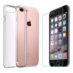 ET41PS ETUI Guma THIN iPhone 4 4S +SZKŁO HARTOWANE