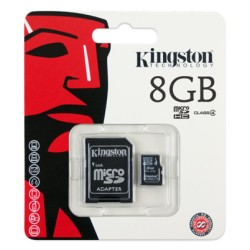 GOODRAM Karta pamięci Micro SDHC 8GB + ADAPTER SD