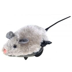 ZB0838 Nakręcana MYSZKA dla dziecka i kotka mysz