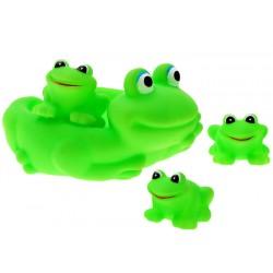 ZB1616 ŻABKA Gumowe zielone żabki do kąpieli
