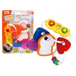 ZB1176 GRZECHOTKA GRYZAK Kluczyki dla niemowląt