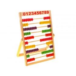 ZB1838 LICZYDŁO Drewniane Kolorowe szkolne
