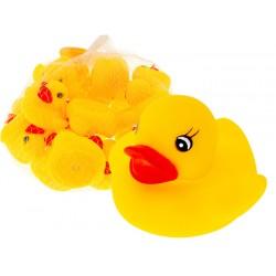 ZB1163 KACZUSZKI gumowe zabawka do kąpieli 20szt