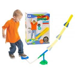 ZB1967 Zabawka gra Wyrzutnia rakiet dla dzieci HIT